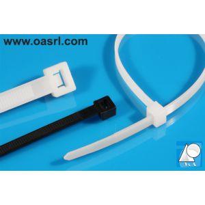 Colier plastic CP 3.6 x 370 mm Negru, rezistent UV