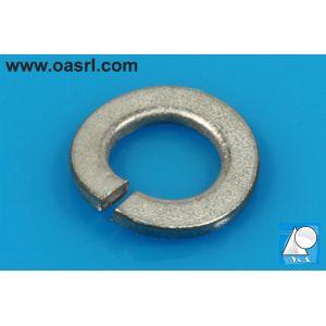 Saiba elastica curbata M6 DIN 128A, otel inoxidabil A2