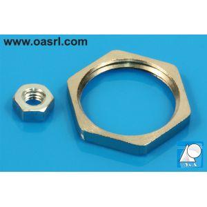 Piulita M8, hexagonala, DIN 934 / ISO 4032, metal