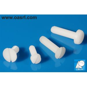 Surub plastic M2.5 x 10 mm, DIN 84 PA, natur
