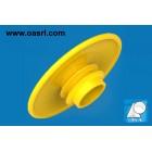 """Protecţie pentru flanşă DN 10 - .3/8"""", PE, galben"""