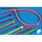 Colier plastic  CP 2.5 x 98 mm Rosu