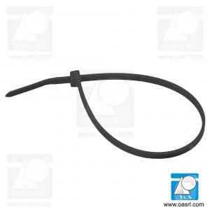 Colier plastic CP 4.8 x 430 mm Negru, rezistent UV