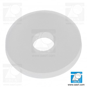 Saiba plastic, M4 PA Natur DIN 125
