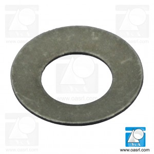 Saiba elastica arcuita M4 DIN 2093B, inox A2