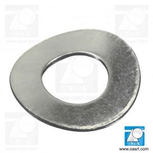 Saiba elastica curbata M8 DIN 137A, inox A2