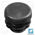 Dop pentru ţeavă, Diametru 12.7mm lungime 12.4mm, din plastic, negru