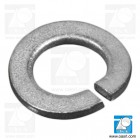 Saiba elastica curbata M4 DIN 128A, otel zincat