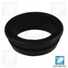 Inel de trecere cablu, conic, Diam gaura montaj 7.0mm, diam int 5.0mm, negru