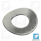 Saiba elastica ondulata M8 DIN 137B, otel zincat