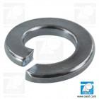 Saiba elastica M10 DIN 127B, grower, otel zincat