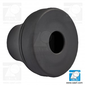 Manson cablu, PG9/M16, IP66/IP67, conic, negru, EPDM