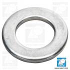 Saiba plata M4 DIN 125B / ISO 7090, otel zincat