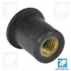 Piuliță oarbă ISO, M5 / 20.5-30.0mm, EPDM, negru